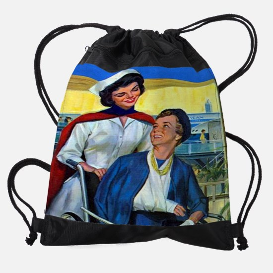 CAcompanioncal05.jpg Drawstring Bag