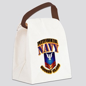 NAVY - PO2 Canvas Lunch Bag