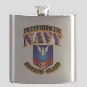 NAVY - PO2 Flask