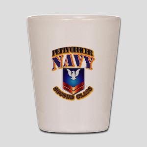 NAVY - PO2 Shot Glass