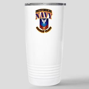 NAVY - PO2 Stainless Steel Travel Mug
