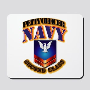 NAVY - PO2 Mousepad