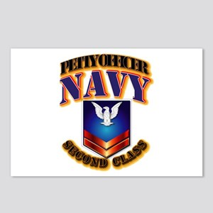 NAVY - PO2 Postcards (Package of 8)