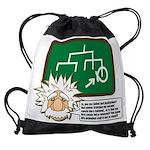 einstein_light.png Drawstring Bag