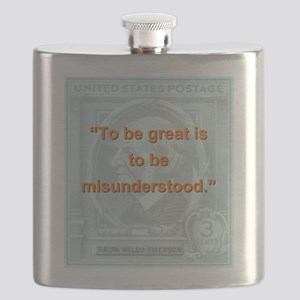 To Be Great Is To Be Misunderstood - RW Emerson Fl