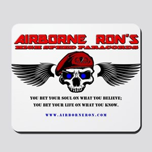 Airborne Ron's High Speed Logo Gear Mousepad