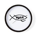 Fish/War Wall Clock
