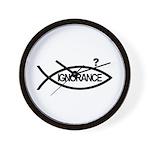 Fish/Ignorance Wall Clock