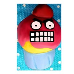 The Angry Cupcake Postcards (Package of 8)