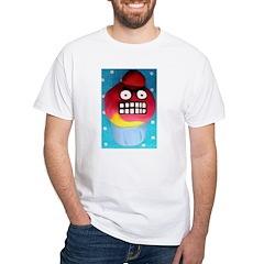 The Angry Cupcake White T-Shirt