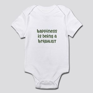 Happiness is being a HERBALIS Infant Bodysuit