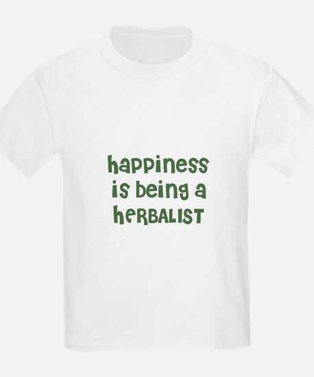 Happiness is being a HERBALIS Kids T-Shirt