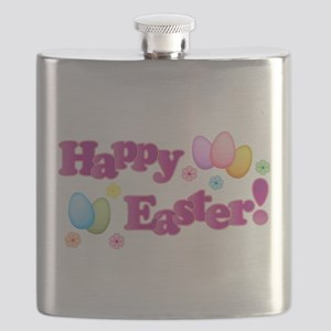 Happy Easter Bunny Flask