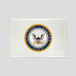 US Navy Emblem Rectangle Magnet