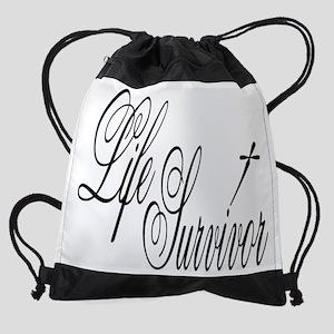 lifeSurvivor Drawstring Bag