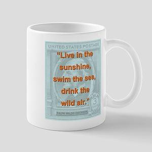 Live In The Sunshine - RW Emerson 11 oz Ceramic Mu