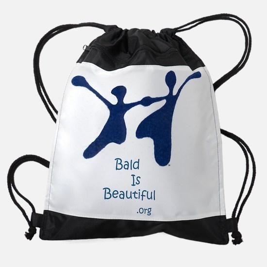 Bald Is Beautiful Tees Drawstring Bag