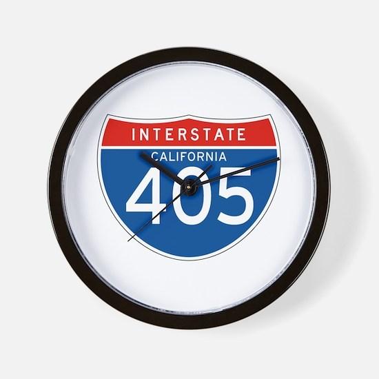 Interstate 405 - CA Wall Clock