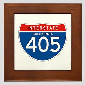 Interstate 405 - CA Framed Tile