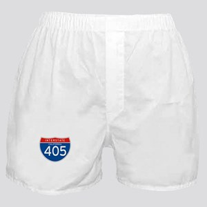 Interstate 405 - CA Boxer Shorts