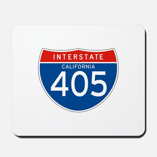 Interstate 405 - CA Mousepad