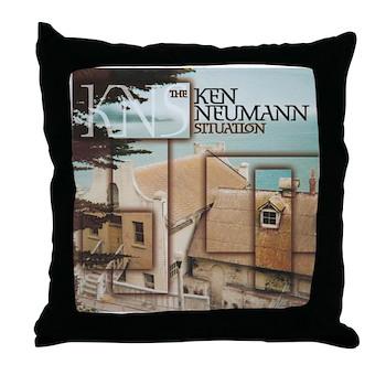 KNS 1 Throw Pillow