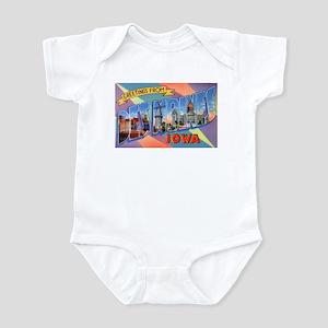 Des Moines Iowa Greetings Infant Bodysuit
