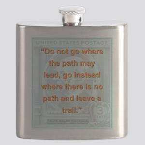 Do Not Go Where The Path May Lead - RW Emerson Fla