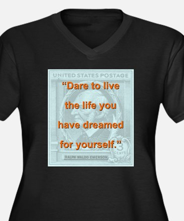 Dare To Live The Life - RW Emerson Women's Plus Si