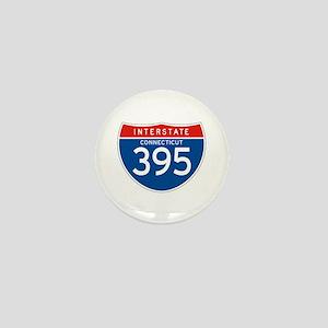 Interstate 395 - CT Mini Button