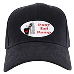 Black Cap - Pony Tail Pump