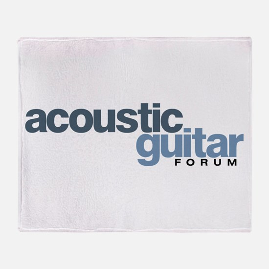 AGF Logo Throw Blanket
