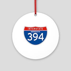 Interstate 394 - MN Ornament (Round)