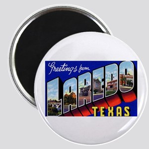 Laredo Texas Greetings Magnet