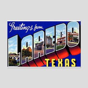 Laredo Texas Greetings Mini Poster Print