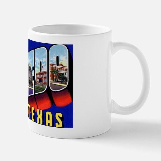 Laredo Texas Greetings Mug