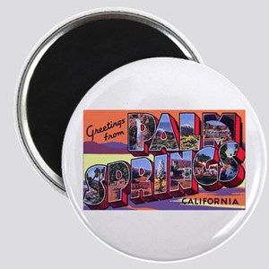Palm Springs California Greetings Magnet