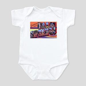 Palm Springs California Greetings Infant Bodysuit