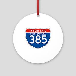 Interstate 385 - SC Ornament (Round)
