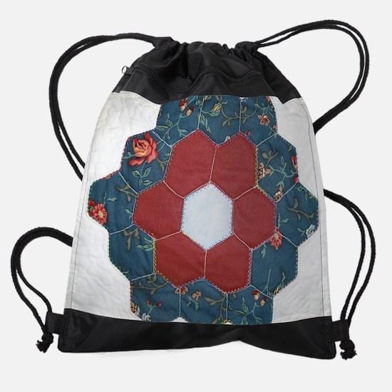 Dottys flower mousepad.png Drawstring Bag
