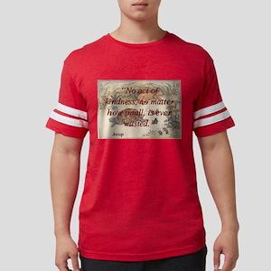No Act Of Kindness - Aesop Mens Football Shirt