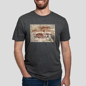 No Act Of Kindness - Aesop Mens Tri-blend T-Shirt