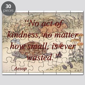 No Act Of Kindness - Aesop Puzzle