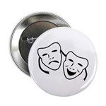 Comedy & Tragedy Mask Button