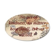 No Act Of Kindness - Aesop Wall Decal
