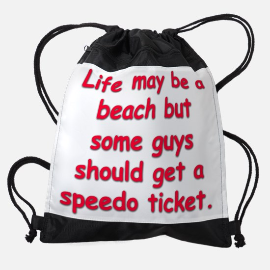 speedo revised copy.png Drawstring Bag