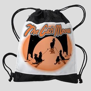 Cats Meow Drawstring Bag