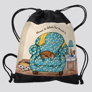 homehoundbones Drawstring Bag