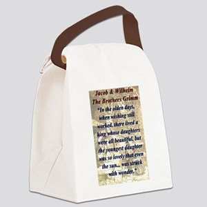 In The Olden Days - Grimm Canvas Lunch Bag