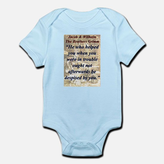 He Who Helped You - Grimm Infant Bodysuit